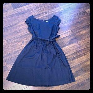 Issac Mizrahi navy blue dress size 6